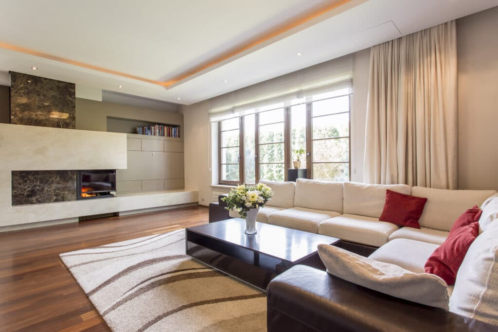 Relax comfortably surrounded with luxury